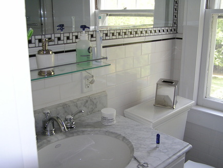 shelf over bathroom sink bath 6 bruce yablon construction call 914 216 2223 20355